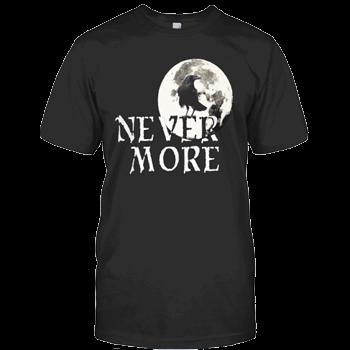 Nevermore T Shirt Edgar Allan Poets