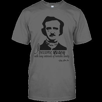 Edgar Allan Poe Insane