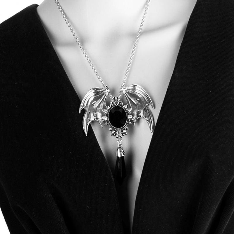 Dark Angel Necklace Edgar Allan Poets