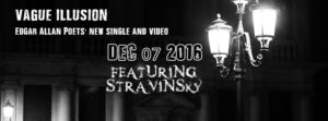 Edgar Allan Poets Vague Illusions new single