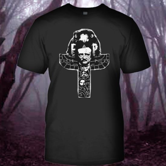 NoirTotem T Shirt Edgar Allan Poets