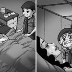 Artist Creates Horror Stories That Will Terrify You Without Saying A Single Word
