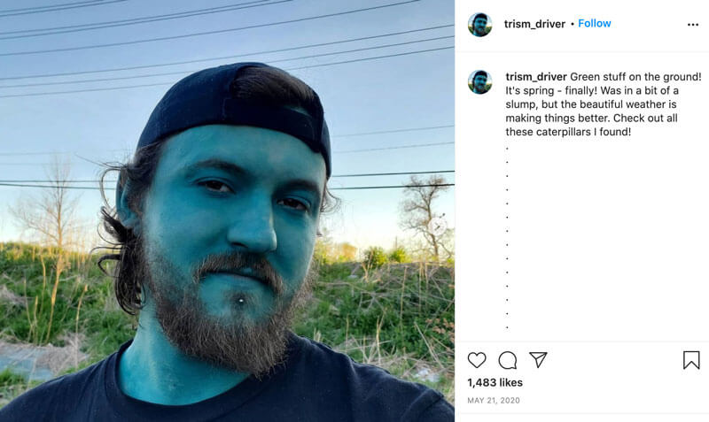 Donnie Snider Decided To Become a Smurf to find Self-Confidence2