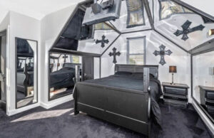 House With A Cemetery Bar And Coffin2