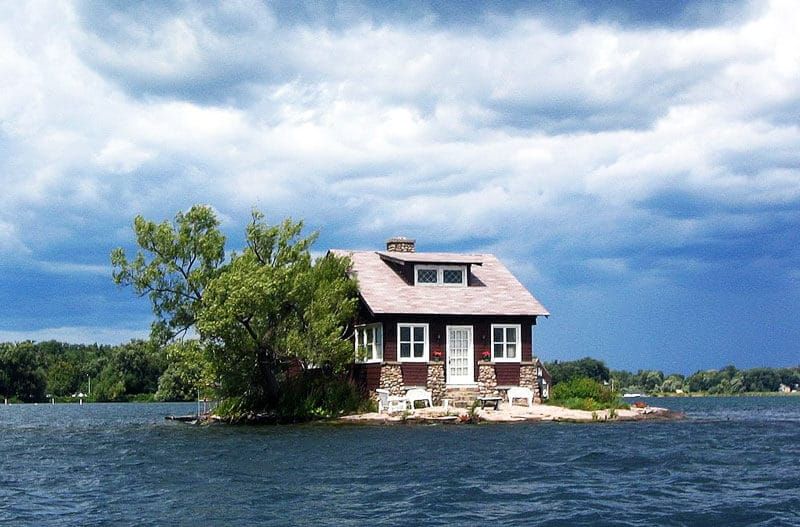 Just-Enough-Room-Island