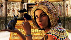 Immense Huge Parade For Mummified Pharaohs