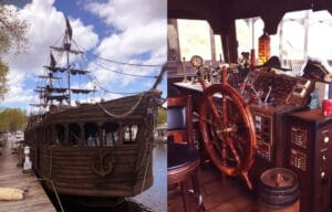 Pirate Ship On The Mississippi With Airbnb