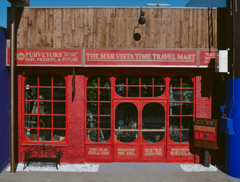 Travel In Time In The Time Travel Mart
