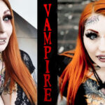 Girl Turns Herself Into A 'Vampire Barbie'