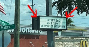 McDonald's in Florida Pays $ 50 For A Job Interview