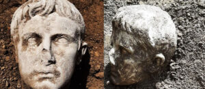 2000 Years Old Augustus' Marble head Found In Italy