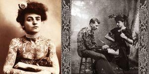 Meet Maud Stevens The First Female Tattoo Artist In History