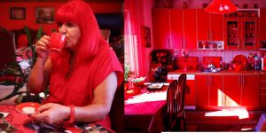 The Woman Who Has Decided To Live In A Red World