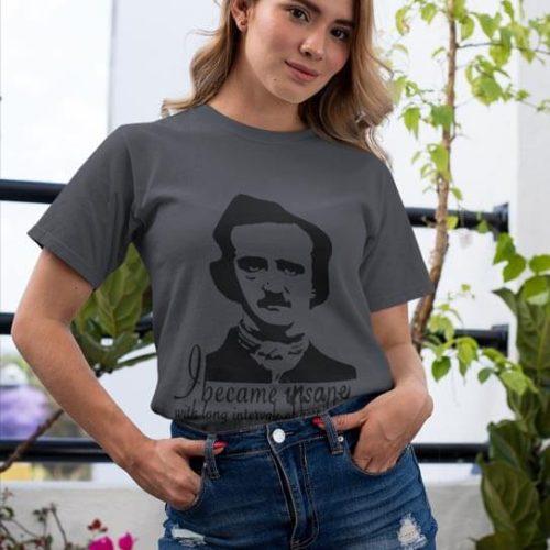 I Become Insane-T-Shirt-Female
