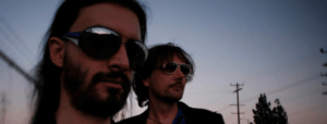 E.A.Poets the noir rock band the band that finds inspiration from Edgar Allan Poe and Hitchcock movies