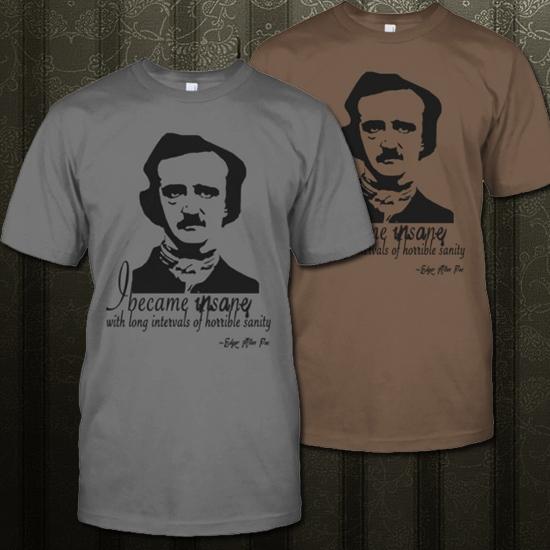 Poe Tees Edgar Allan Poets