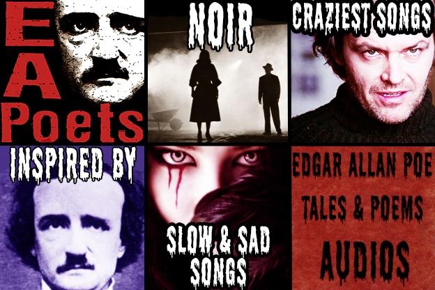 Edgar Allan Poets Spotify Playlists